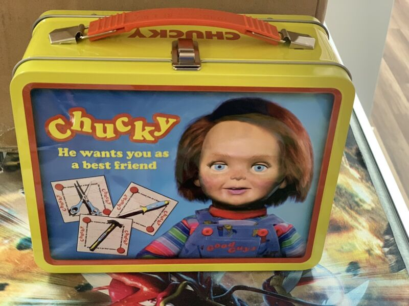 Chucky Wanna Play Retro Carry Tote Lunch Box