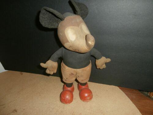 Vintage Walt Disney Mickey Mouse Stuffed Doll Knickerbocker ?