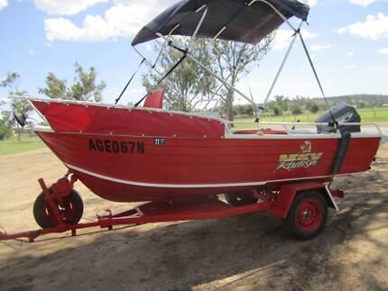 Family Fishing Boat