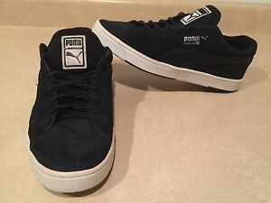 Men's Puma Black Low Top Shoes Size 8.5