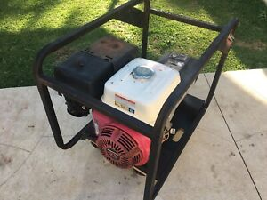 5.8Kva Honda Generator with 2x 10Amp outlets
