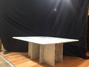 Marble table, coffee table, and end table