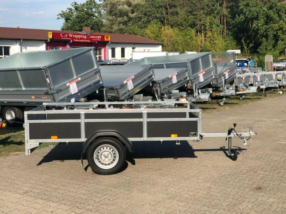 ⭐Anhänger Saris Wood AMG75 750kg 255x133x45cm kippbar Klappe in Schöneiche bei Berlin
