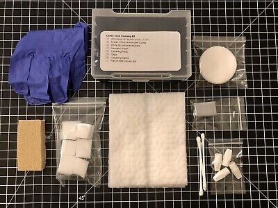 Comic Book Dry Cleaning Starter Kit - CPR Supplies - CGC CBCS- Absorene Pressing