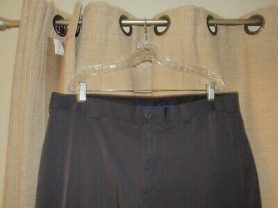 SLAZENGER golf pants mens 40 x 32 flat front microfiber excellent