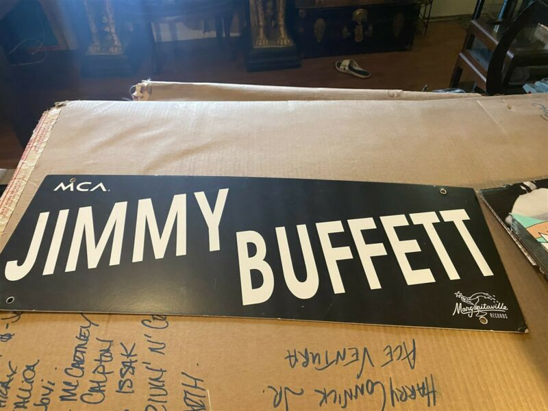 Jimmy Buffett Its Five O Clock Somewhere Hanging Store Display 28by10