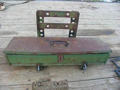 John Deere Tractor Steps Tool Box