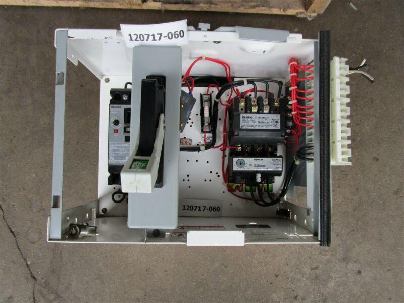 Siemens Tiastar MCC Bucket Size 1 14DSt32A Starter 30 amp Breaker
