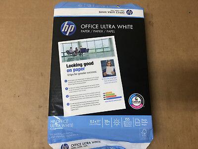 Hp Printer Paper Office20 Paper 8.5 X 11 Letter Size 20lb Shelf Pull
