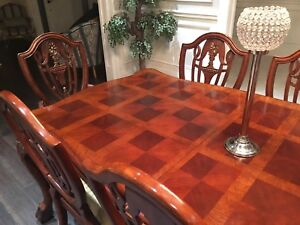 8-chair dining table for sale - great condition!