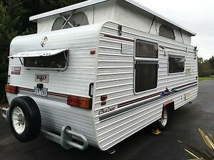 2003 Regent Cruiser Poptop - Island Double - Rollout w/Walls Warragul Baw Baw Area Preview
