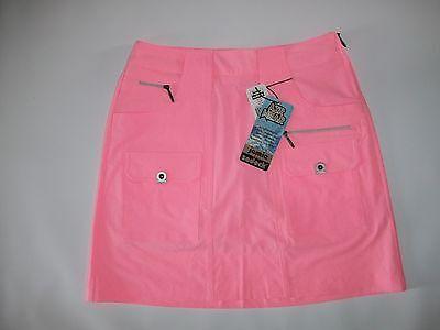 JAMIE SADOCK Air Wear DOLL FACE PINK Golf SKORTS Skort Womens Size 2 NEW