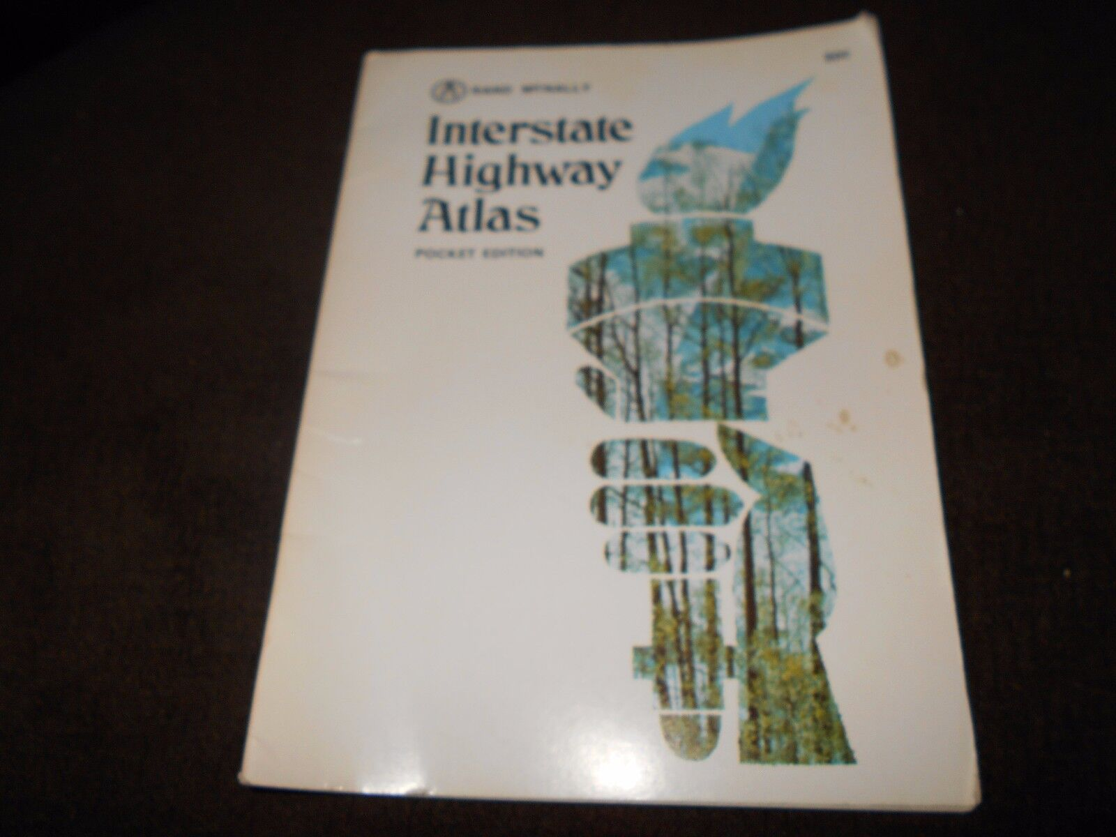 1972 Buick Rand McNally Interstate Highway Atlas From Plymouth/Chrysler Dealers