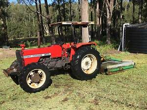 Massey Ferguson 373 62hp tractor 4 x 4 diff lock good cond Crescent Head Kempsey Area Preview
