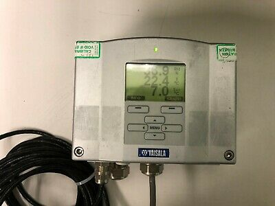 Vaisala Hmt337 Humidity And Temperature Transmitter 100-240v-ac