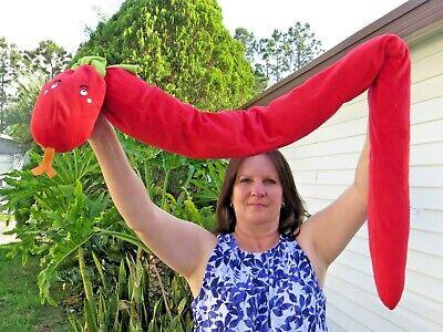 SUPER RARE Ikea Barnslig Ormen Red Snake 62