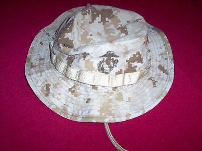 USMC US Marine Corps Desert Digital Camo Boonie Hat
