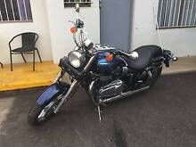 2008 triumph america bonneville with leather side panniers Taminda Tamworth City Preview