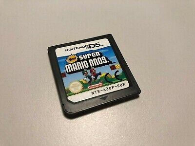 New Super Mario Bros (Nintendo DS) DSi 2DS 3DS Genuine EUR PAL - FREE UK POSTAGE