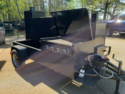 Blackstone Griddle Propane Fish Fryer BBQ Grill Smoker Trailer Food Truck Cater