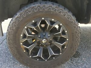 Fuel assault wheels