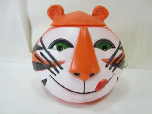 1968 Kelloggs Tony the Tiger Plastic Lidded Container