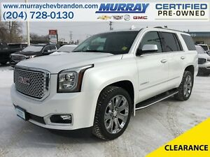 2016 GMC Yukon Denali 4WD 7 Pass Option *DVD* *Nav* *Blind Side*