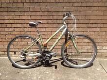 ladies GIANT cypress bike + helmet, lock, pump Mortdale Hurstville Area Preview