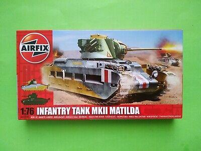 Airfix 1/76 Matilda Infantry tank MKII Maqueta tanque