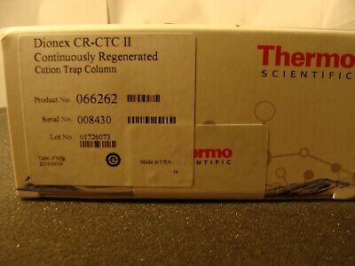 Sealed Therm Dionex Cr-ctc Ii Continuously Regenerated Cation Trap Column 066262