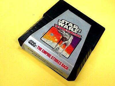 1982 Parker Bros Star Wars Empire Strikes Back Game Cartridge  Atari 2600 Used