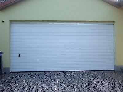 Garagentor, Sektionaltor m. Motor u.Fernbdg.5000 x 2125 mm  Sicke