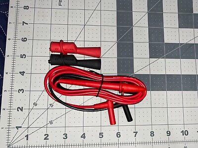Fluke Tl75 Hard Point Test Lead Set Tl175 Alligator Clips