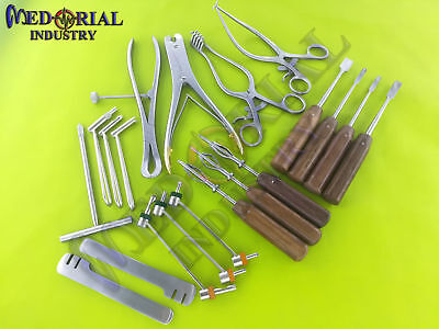 Basic Orthopedic Surgery Instruments Assorted Set Of 20 Pcs Fine Quality