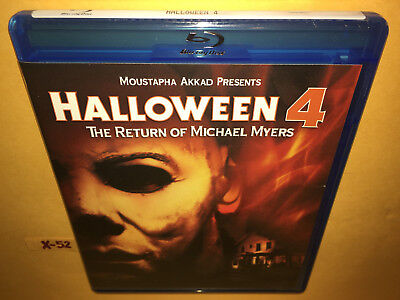 HALLOWEEN 4 blu-ray RETURN of MICHAEL MYERS commentary ELLIE CORNELL + - Halloween 4 Panel