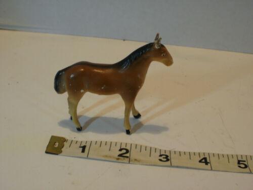 "Early 20thc CHRISTMAS GERMAN PUTZ Nativity HORSE Figure ""Matchstick"" Legs"