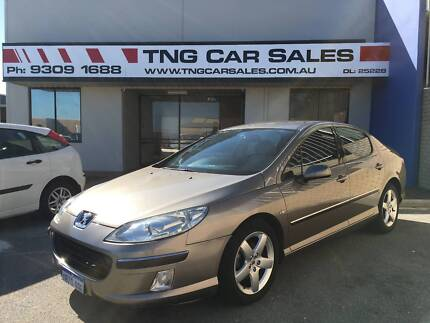 2005 Peugeot 407 Sedan Turbo Diesel 1 year warranty inc Wangara Wanneroo Area Preview