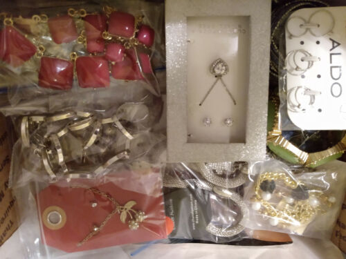Jewelry MFR box full All Wearable Huge Variety 6 lbs