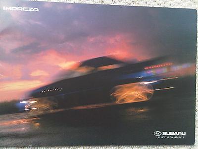 Subaru Impreza Brochure including WRX