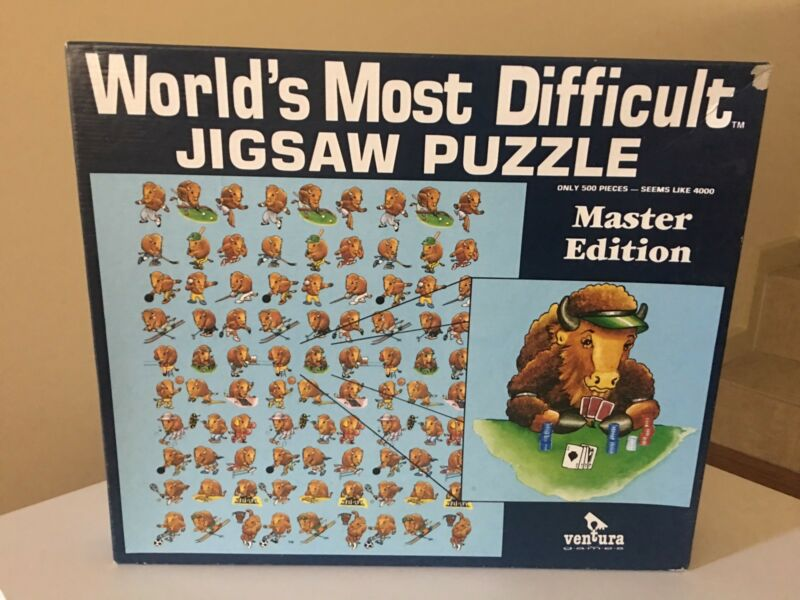 Challenge jigsaw puzzles