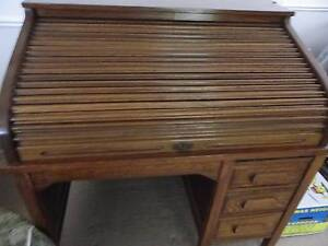 Antique Roll top desk Clarkson Wanneroo Area Preview