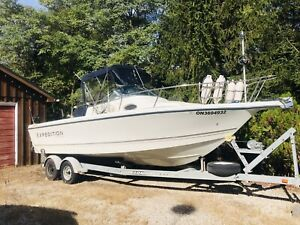 25 ft Starcraft Expedition fishing boat