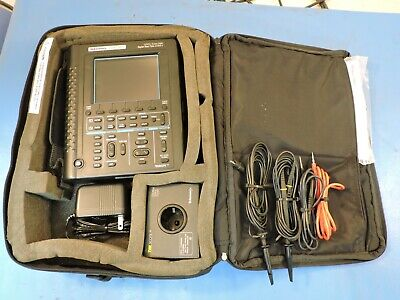 Tektronix Ths720a Handheld Oscilloscope Dmm 100mhz Probes Leads 90 Day War
