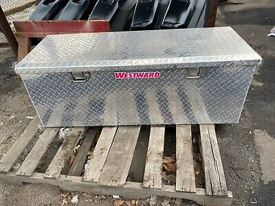 Westward Aluminum Truck Box Tool Chest - Model 6gcp0