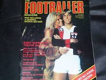 WANTED - The Footballer Magazines******1981 Springvale South Greater Dandenong Preview