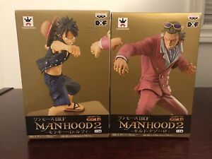 One Piece Film: Gold - Manhood2 - Luffy Vs. Tesoro (BANPRESTO)
