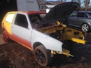 Rust free Volkswagen gti rolling shell