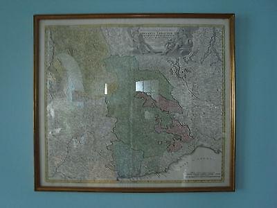 Norditalien Piemont Kupferstich Landkarte Map Johann Baptist Homann 1730