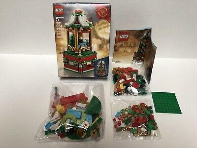 New LEGO Limited Edition #40293 Christmas Carousel (251pcs) NIB