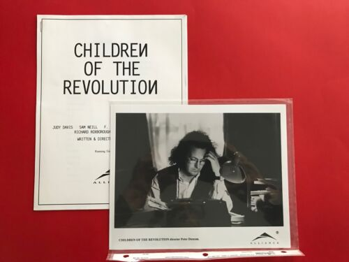 Children of the Revolution (1996) Original Promotional Media Press Kit